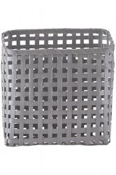 Kurv Cube 12x25 cm - Grå