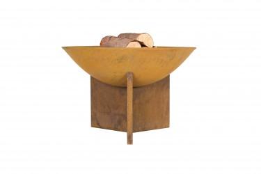 LA HACIENDA Kala bålfad - rust støbejern og stål, rund (Ø56)