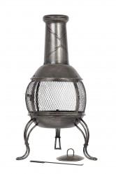 LA HACIENDA Leon Medium udepejs - bronzefinish stål, rund (Ø38)