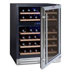 La Sommeliére Prestige vinkøleskab 2 zoner - 45 flasker CVDE46-2