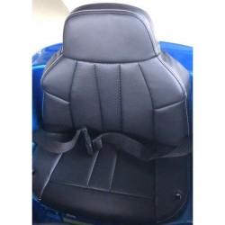 Læder sæde/overtræk til BMW 6 GT elbil til børn 12v