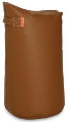Læder Satellite skammel - H78 - Cognac