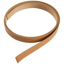 Læderrem - Brun kernelæder