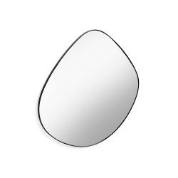 LAFORMA Anera vægspejl - spejlglas og sort metal