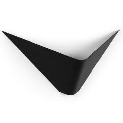 LAFORMA Ginebra væglampe - sort stål