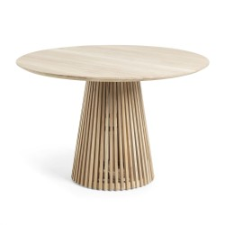 LAFORMA Irune spisebord - natur teaktræ, rund (Ø120)