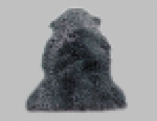 Lammeskind - New Zealand 140 x 70 cm - Grå
