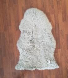 Lammeskind - New Zealand 90 x 60 cm - Lys grå