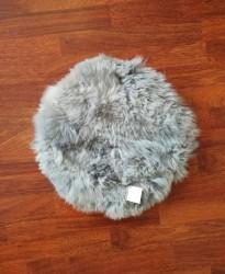 Lammeskind - Sædehynde 37 cm - Lys grå