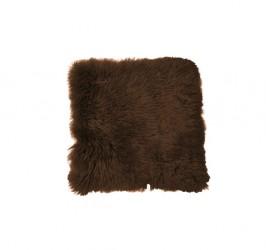 Lammeskind - Sædehynde 40x40 cm - Chokolade