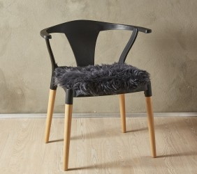 Lammeskind - Sædehynde 40x40 cm - Grå