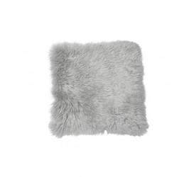 Lammeskind - Sædehynde 40x40 cm - Lys grå