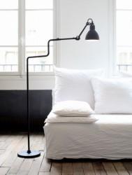 Lampe gras - gulvlampe 411 (sort)