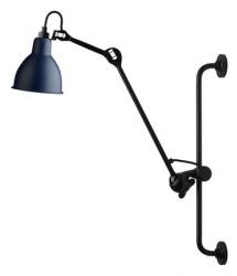 Lampe Gras N°210 væglampe - blå/sort