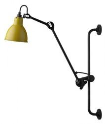 Lampe Gras N°210 væglampe - gul/sort