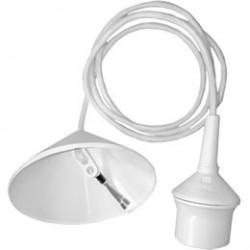 Lampeophæng - Hvid