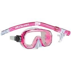 Land & Sea snorkelsæt til børn - Kakadu - Pink