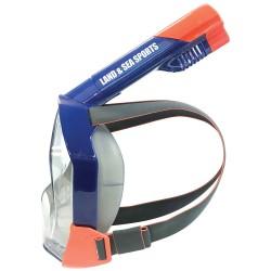 Land & Sea svømmemaske til voksne - Orpheus - Blå/orange
