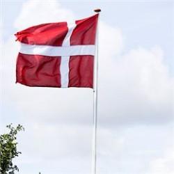Langkilde & Søn dannebrogsflag til 5 - 6 meters flagstang