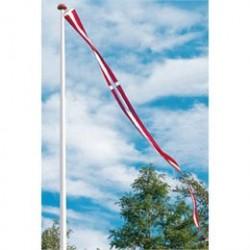 Langkilde & Søn dannebrogsvimpel til 10 meters flagstang