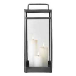 Lanterne Cozy Living grey - large