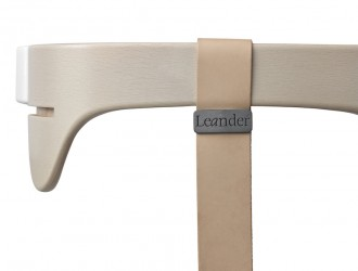 Leander - Bøjle til højstol, Whitewash