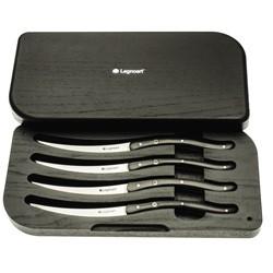 Legnoart WAGYU Sæt m/ 4 Steak Knive i eksklusiv træ-æske