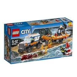LEGO City firhjulstrukket udrykningsenhed 60165
