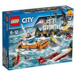 LEGO City kystvagtens hovedkvarter
