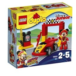 LEGO Duplo Mickeys racerbil 10843