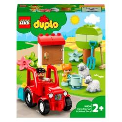 LEGO DUPLO Town Traktor og pasning af bondegårdsdyr