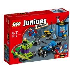 """LEGO Juniors Batmanâ""""¢ og Supermanâ""""¢ mod Lex Luthorâ""""¢ 10724"""