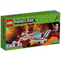LEGO Minecraft Netherjernbanen