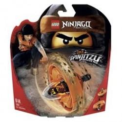 LEGO Ninjago Spinjitzu Mester Cole