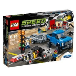 LEGO Speed Champions Ford F-150 Raptor og Ford Model A hotrod 75875