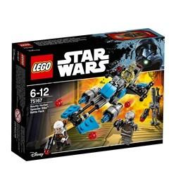 """LEGO Star Wars Bounty Hunterâ""""¢ Speederbike Battle Pack 75167"""