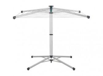 Leifheit Linopop-Up Tørrestativ - H 110 x B 83 x D 116 cm - Rustfrit stål