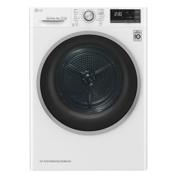 LG S0rc308n1w9 Kondenstørretumbler - Hvid