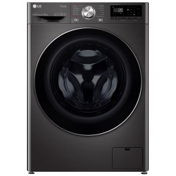 LG vaskemaskine/tørretumbler CV90J7S2BE (sort)