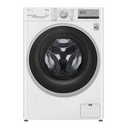 LG W4WV408S1W Vaskemaskine - Hvid