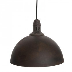 Light rustic loftlampe (dome)