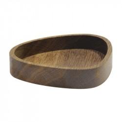 LINDDNA Wood Box Curve Oak Smoked
