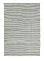 Linie Design Ajo lys blå uld tæppe - 140x200