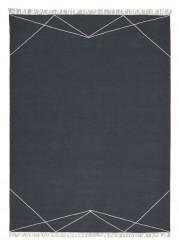 Linie Design Anisya Navy uld tæppe - 170x240