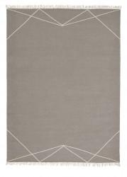 Linie Design Anisya Stone uld tæppe - 200x300