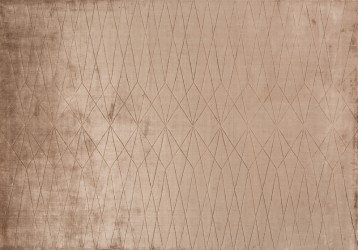 Linie Design Edge - Wine Tæppe - Rosa - 170x240