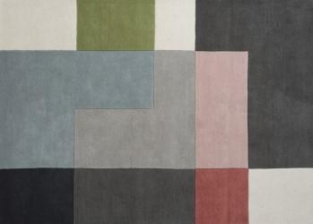 Linie Design Tetris - Powder Tæppe - 170x240