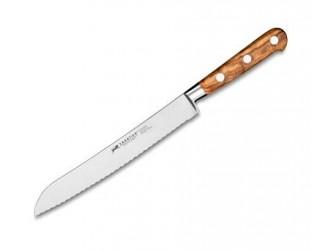 Lion Sabatier Ideal Provence brødkniv stål/olivtræ 20 cm