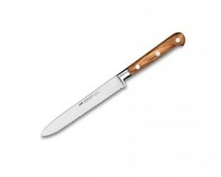 Lion Sabatier Ideal Provence tomatkniv stål/olivtræ 12 cm