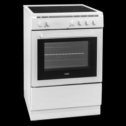 Logic komfur - LFC60W19N - hvid